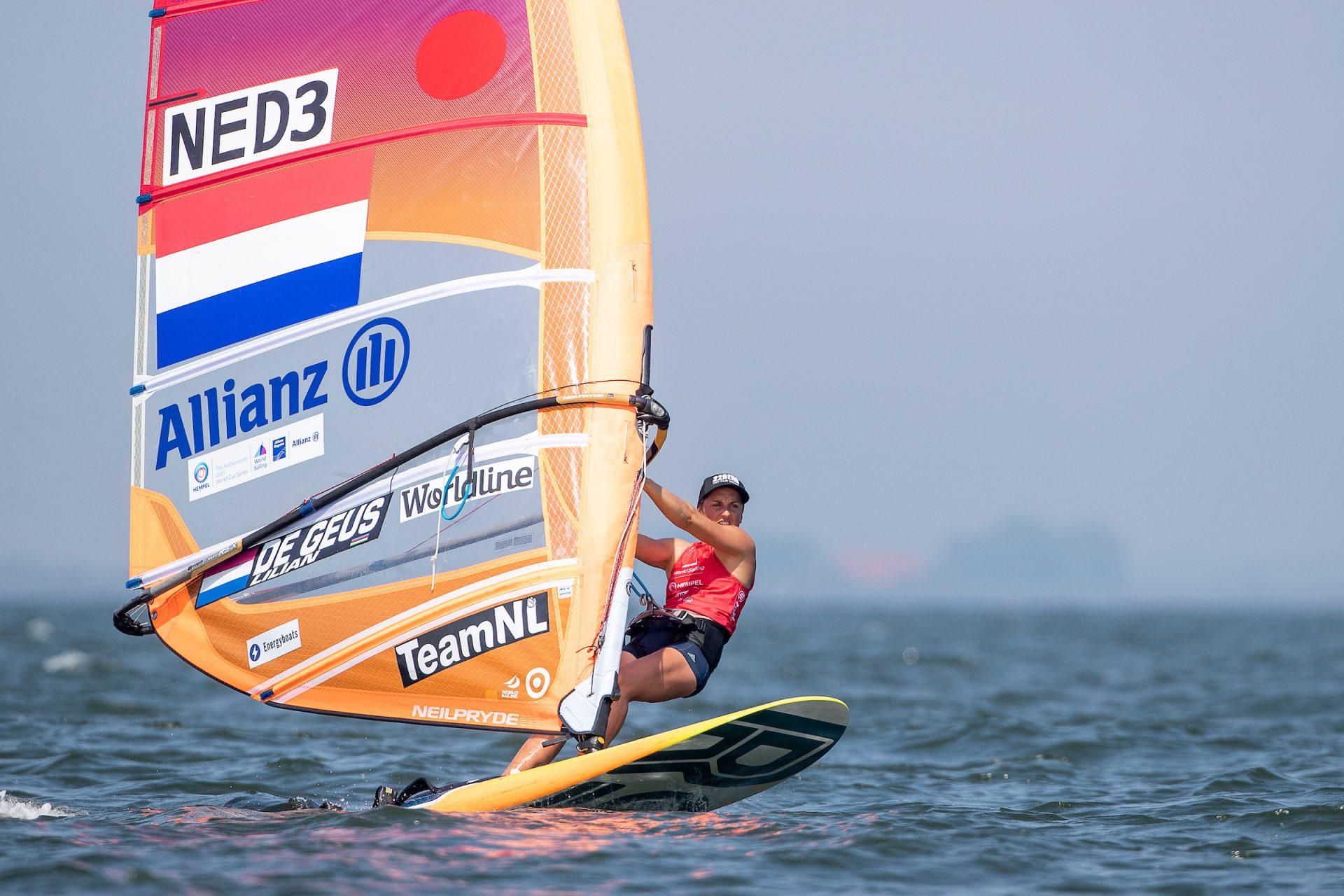 Windsurfster Lilian de Geus ambassadeur Energyboats
